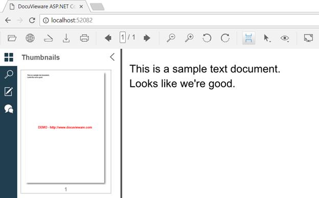 Figure 1: Text document