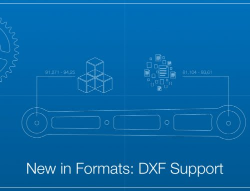 New in Formats: DXF Support