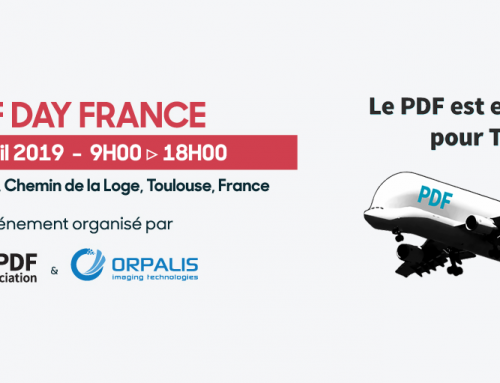 À vos agendas : PDF Day France, Toulouse, 4 avril 2019