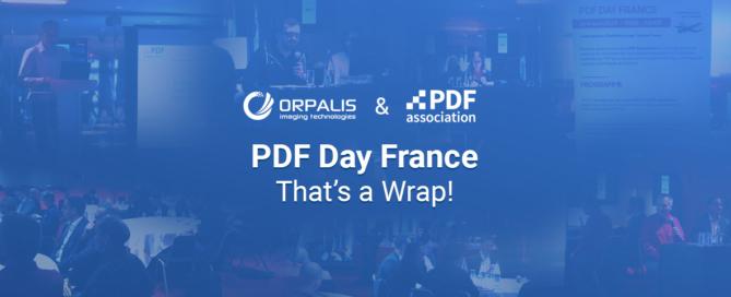 PDF Day France - That's a wrap!