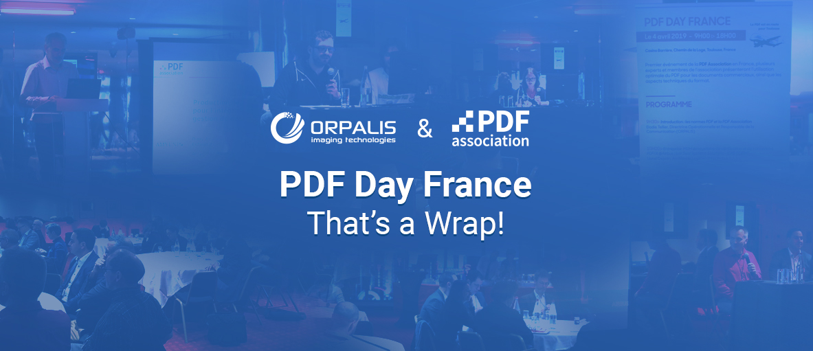 First Edition of the PDF Day France: That's a Wrap!