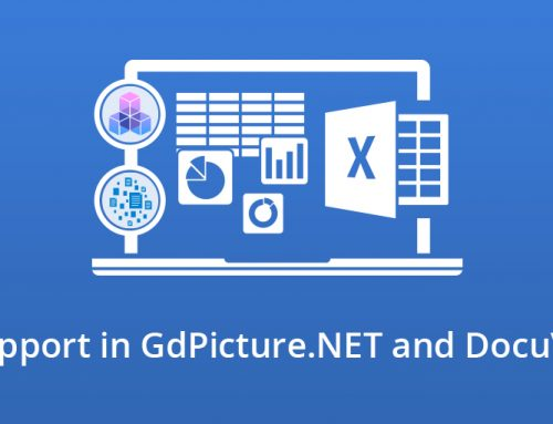 XSLX Support in GdPicture.NET and DocuVieware
