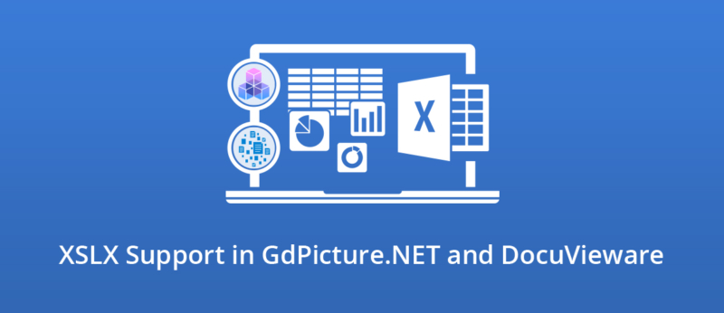 Illustration for XSLX Support in GdPicture.NET and DocuVieware
