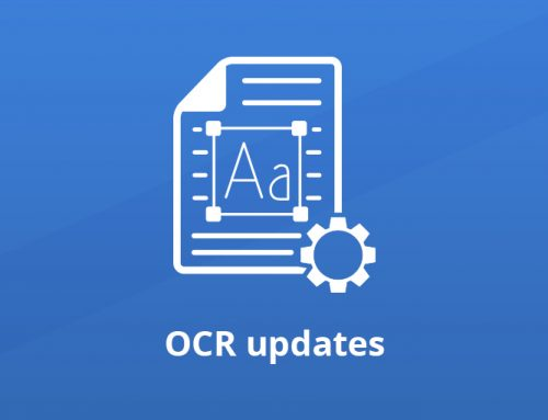 OCR Support in GdPicture.NET: Updates and Strategies