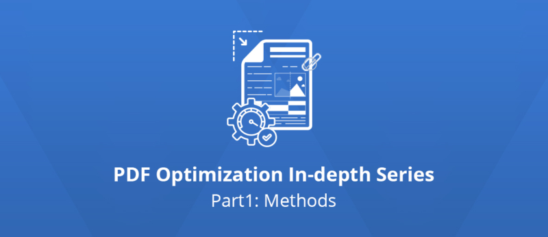 Illustration for the introduction to the PDF Optimization In-depth Series