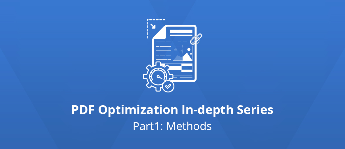 Introduction to the Optimization of Existing PDF files: Methods