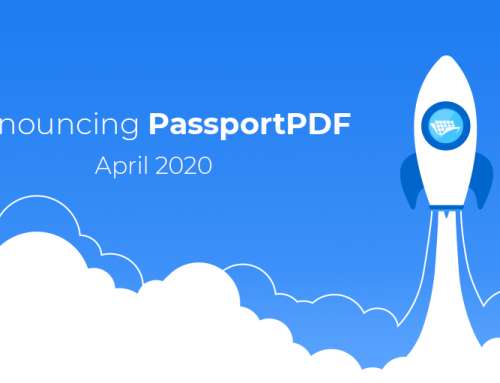 New: PassportPDF Plans Available
