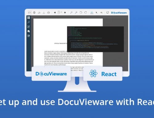 How to Set up and Use DocuVieware with React