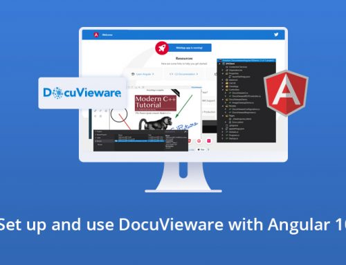 DocuVieware Tutorial for Angular 10