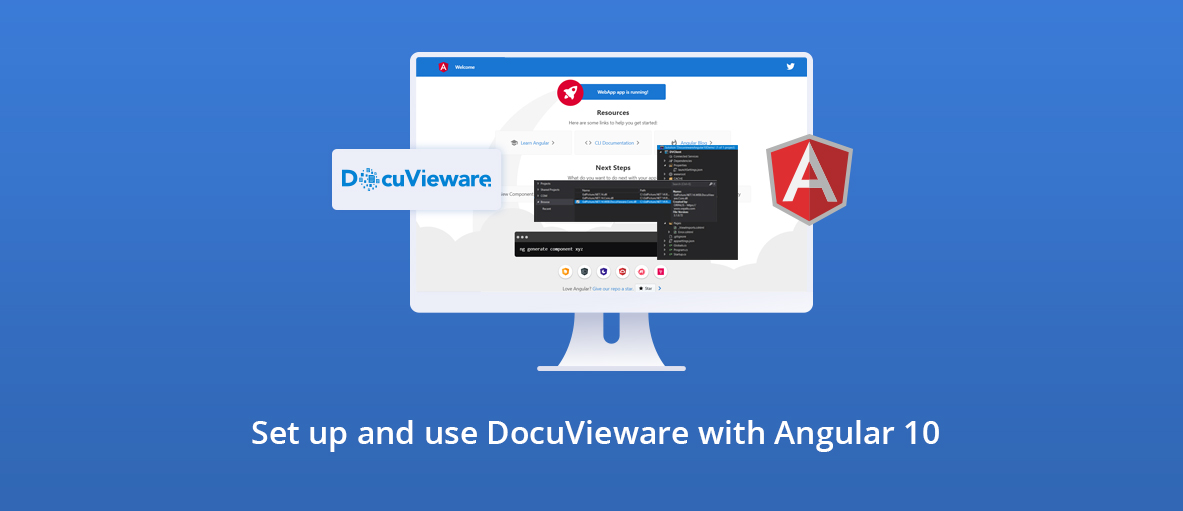 Illustration DocuVieware Tutorial for Angular 10