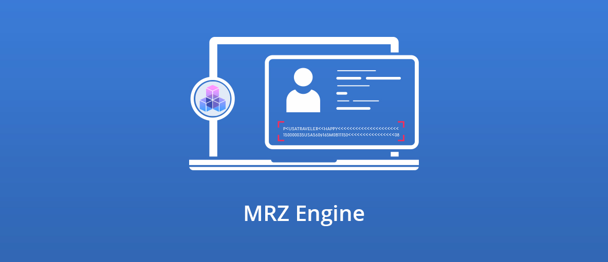 Illustration for the blog article about the new MRZ Engine in GdPicture.NET SDK.