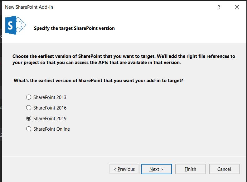 SharePoint 2019 screenshot
