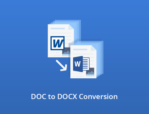 DOC to DOCX Conversion with GdPictureDocumentConverter