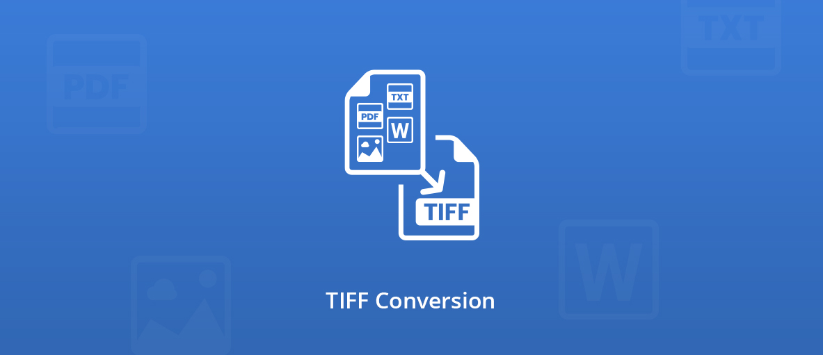 Illustration for the blog article about TIFF conversion