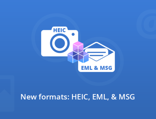 New formats support in GdPicture.NET and DocuVieware SDKs: HEIF/HEIC, EML, and MSG
