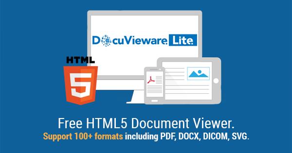 DocuVieware Lite :: Free HTML5 Document Viewer