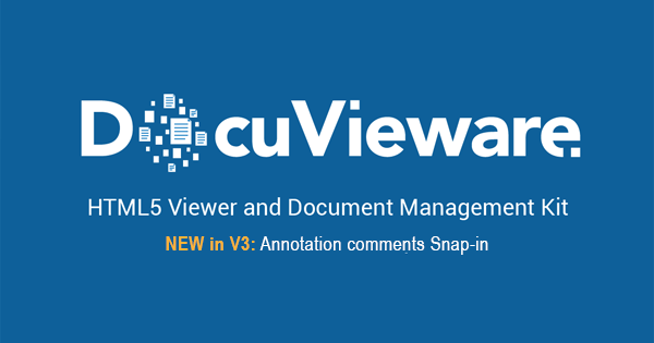 Universal HTML5 Viewer and Document Management Kit